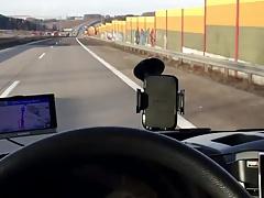 Geil im Firmenauto