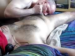 Bondage Scene Becomes A Cocksucker's Dream.