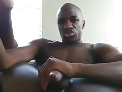 Fucking His Ass With Dildo