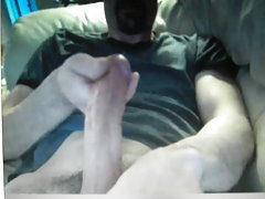 Massive horse cock guy on cam