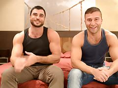 BTS MenOver30 With HOT HUNK Mike Dozer & JR Bronson