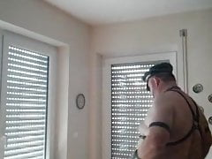 CHUBBY PUNISHMENT IN LEATHER