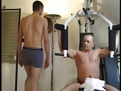 Randy Guys Fucking In Gym