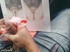 X boss cum on my panties