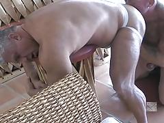 Ass plucking finger by finger