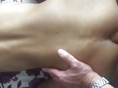 Asian bottoms pounded by big white cocks (13 scenes!)