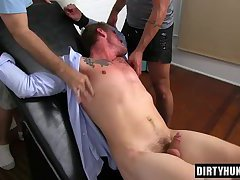 Muscle gays foot and cumshot