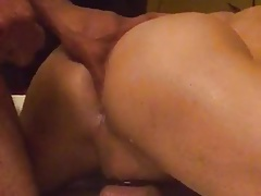 Jack Off In His Asshole