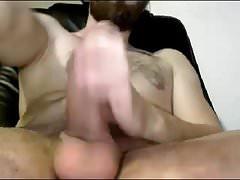 Romanian Str8 Guy Delivers Again a Huge Cum Shower #110