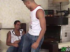 Raw nailing latin gay