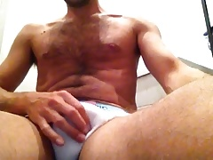 Wanking and cum