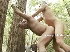 Horny turist gets abused by gay men