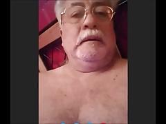 chilean grandpa wanking