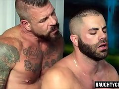 Stallion Rocco's Big dick gay oral sex