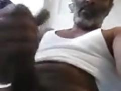 Big Dick Daddy Bathroom Solo & Cum
