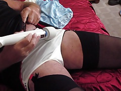 wanking with my new toy