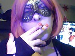 Smoking Goth-tastic Redhead CD