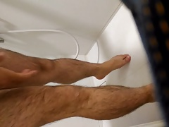 in shower room