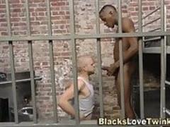Prison bitch facial bbc