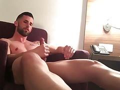 Great jerking huge cock