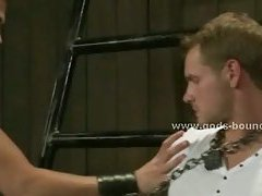 Boy forced to fuck in extreme bondage