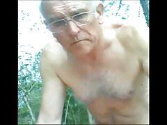 Old naked guy