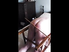 30 cane strokes for the slave
