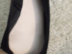 Friend's Flats and pantyhose (tights)