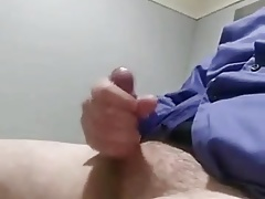 More cum at work