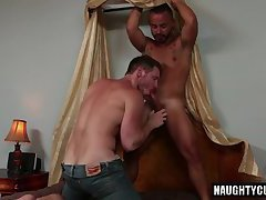 hairy jock flip flop and swap