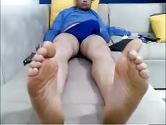 Man with Big Meaty Dirty Size 48 EU (14 US) Soles