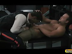 The force is gay blowjob and fucks anal bareback