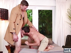 Cute young Tobias getting his ass stuffed with fat cock