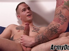 Hot Ryan Jordan and Richard Buldger fucking hard and raw