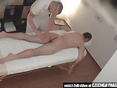 Secret Gay Sex On Massage Table