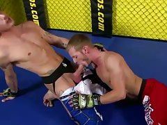 This fight gets extreme with a blowjob for the contender