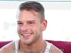 Cute Guy Gets Fucked On Casting