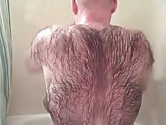 Very Hairy daddy shower