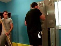 Gay locker room dick licking