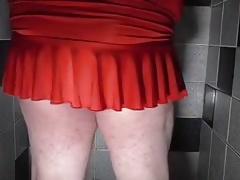 Wetting my new dress
