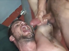 Muscle Pig Gangbanged by Muscle Tops