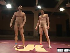 Muscle gays oral sex and facial