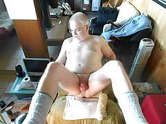 Extended Ass Reaming By A Huge Dildo