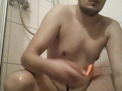 Anal Spiele mit spitzen Dildo