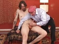 Ed with huge fuck pole