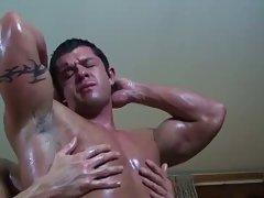Hot Body Builders Mutual Blowing