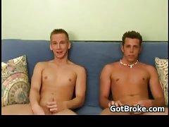 Really hetero but really broke doing filthy gay sex