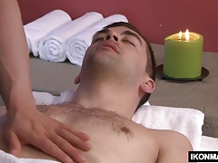 Josh Stone loves getting massages from straight men