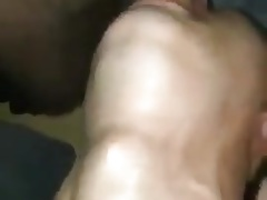 Hot gay throat fucking with awesome throat bulge