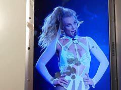 Britney Spears Cum Trbute 68